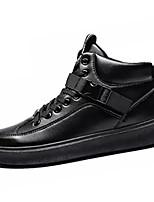 Недорогие -Муж. Комфортная обувь Полиуретан Осень На каждый день Кеды Дышащий Черный / Бежевый / Черный / Красный