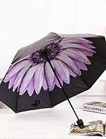 Недорогие -Нержавеющая сталь Все Солнечный и дождливой / Очаровательный Складные зонты