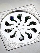 Недорогие -Слив Cool / Креатив Modern Нержавеющая сталь / железо 1шт истощать Установка на полу