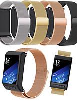 abordables -Bracelet de Montre  pour Vivoactive HR Garmin Bracelet Milanais Acier Inoxydable Sangle de Poignet
