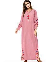 baratos -Mulheres balanço / Abaya Vestido Cintura Alta Longo