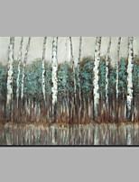 baratos -Pintura a Óleo Pintados à mão - Abstrato / Paisagem Clássico / Modern Tela de pintura
