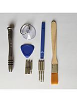abordables -Acier de charbon / Chrome Vanadium Steel Réparation de téléphone 11 in 1 Sets d'Outil