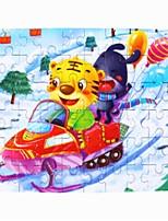 baratos -Quebra-Cabeças de Madeira Gato Escola / Fabricado à Mão / Brinquedos de descompressão De madeira 1 pcs Infantil / Adolescente Dom
