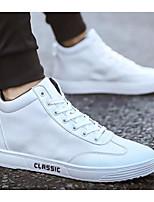 Недорогие -Муж. Комфортная обувь Полиуретан Весна Кеды Белый / Черный / Красный
