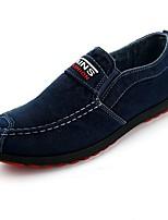 abordables -Homme Chaussures de confort Toile Automne Décontracté Mocassins et Chaussons+D6148 Respirable Gris / Bleu / Bleu clair