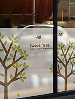 cheap -Window Film & Stickers Decoration Contemporary / Folk Style Striped / Simple PVC(PolyVinyl Chloride) Window Sticker / Lovely