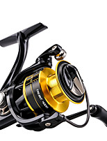 cheap -Fishing Reel Spinning Reel 5.2:1 Gear Ratio+11 Ball Bearings Hand Orientation Exchangable Sea Fishing / Bait Casting / Carp Fishing