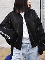Недорогие -Жен. Куртка Уличный стиль - Современный стиль