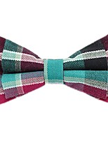 cheap -Unisex Party / Basic Bow Tie - Color Block / Plaid / Patchwork Bow