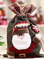 baratos -Bolsa Natal Tecido Brinquedo dos desenhos animados Decoração de Natal