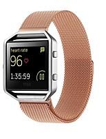Недорогие -Ремешок для часов для Fitbit Blaze Fitbit Миланский ремешок Нержавеющая сталь Повязка на запястье