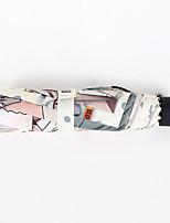 Недорогие -Нержавеющая сталь Все Солнечный и дождливой / Cool Складные зонты