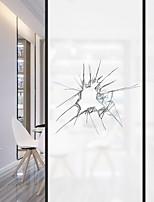 Недорогие -Оконная пленка и наклейки Украшение Обычные 3D-печати ПВХ Стикер на окна
