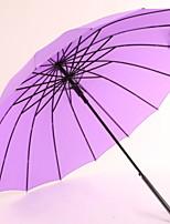 Недорогие -Ткань / Нержавеющая сталь Все Солнечный и дождливой / Новый дизайн Зонт-трость