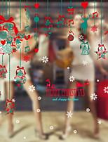 billiga -Fönsterfilm och klistermärken Dekoration Jul Semester pvc Häftig