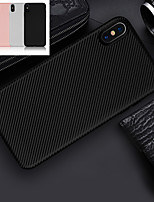 abordables -Coque Pour Apple iPhone XS / iPhone XR Ultrafine Coque Lignes / Vagues Flexible TPU pour iPhone XS / iPhone XR / iPhone XS Max