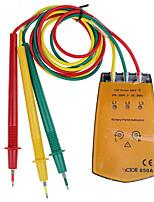 Недорогие -1 pcs Пластик Тестер батареи / Тестер емкости сопротивления Измерительный прибор / Обнаружение сети 200~600 VICTOR