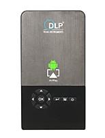 Недорогие -Factory OEM C2 DLP Бизнес-проектор / Проектор для домашних кинотеатров / Мини-проектор Светодиодная лампа Проектор 100 lm Android 7.1 Поддержка 1080P (1920x1080) 30-120 дюймовый Экран
