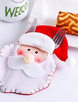 Недорогие -Орнаменты Новогодняя тематика Ткань Оригинальные Рождественские украшения