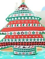 Недорогие -Рождественский декор / Наволочка Новогодняя тематика / Праздник Хлопковая ткань Рождественская елка Оригинальные Рождественские украшения