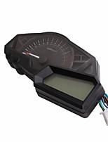 abordables -MLS006 Moto Tachymètre / Indicateur de Vitesse pour motocyclettes Toutes les Années Universel Jauge Tachymeter
