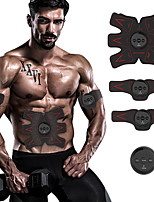 cheap -Abs Stimulator / EMS Abs Trainer With 4 pcs Electronic, Strength Training, Muscle Toner Muscle Toning, Tummy Fat Burner For Exercise & Fitness / Gym / Workout Waist, Arm Sports Outdoor / Home / Office