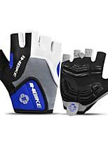 Недорогие -INBIKE Спортивные перчатки Перчатки для велосипедистов Пригодно для носки / Дышащий / Нескользящий Без пальцев силикагель / Сетка / Поли уретан Шоссейные велосипеды / Велосипедный спорт / Велоспорт