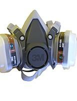 baratos -1pç Borracha Máscara Proteção Dupla De Máscara De Gás Máscaras Faciais