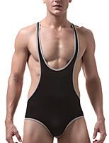 Недорогие -Муж. Сексуальные платья V-образный вырез нижняя рубаха Открытая спина / 1 шт.