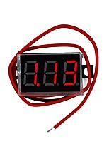 Недорогие -миниатюрный цифровой измеритель напряжения постоянного тока 0,36 дюйма dc 4,5v-30v двухпроводный дисплей с переменной точностью