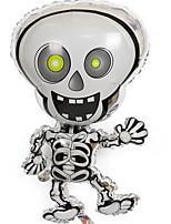 Недорогие -Праздничные украшения Украшения для Хэллоуина Хэллоуин Развлекательный Cool Белый 1шт
