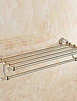 baratos -Prateleira de Banheiro Novo Design / Legal / Multifunções Moderna Aço Inoxidável / Ferro 1pç Montagem de Parede