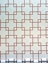 Недорогие -Оконная пленка и наклейки Украшение Шинуазери (китайский стиль) Геометрический принт / С принтом ПВХ Стикер на окна