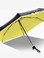cheap -Stainless steel All Sunny and Rainy Folding Umbrella