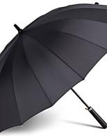 cheap -Plastic / Stainless steel Men's Sunny and Rainy Straight Umbrella