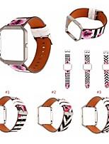 Недорогие -Ремешок для часов для Fitbit Blaze Fitbit Кожаный ремешок Кожа Повязка на запястье