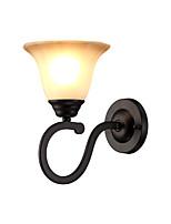 baratos -Fosco / Proteção para os Olhos Retro Quarto Metal Luz de parede 110-120V / 220-240V