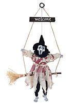 Недорогие -Праздничные украшения Украшения для Хэллоуина Хэллоуин Развлекательный / Декоративные объекты Декоративная / Cool Белый 1шт