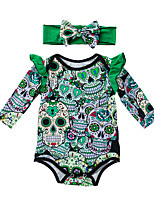 cheap -Baby Girls' Print Long Sleeve Bodysuit