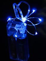 Недорогие -2м Гирлянды 20 светодиоды Белый / Красный / Синий Декоративная / Cool Аккумуляторы AA