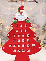Недорогие -Орнаменты Праздник Ткань Оригинальные Рождественские украшения