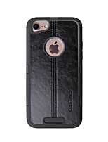Недорогие -Кейс для Назначение Apple iPhone 6 / iPhone 6s Защита от удара Кейс на заднюю панель Однотонный / Полосы / волосы Твердый ТПУ для iPhone 6s / iPhone 6