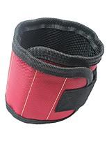 baratos -Poliéster para prender parafusos, pregos, brocas com ímãs fortes Pulseira Magnética