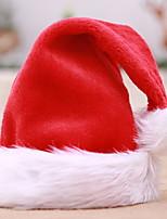 Недорогие -Рождественские украшения Новогодняя тематика Фланелет Круглый Оригинальные Рождественские украшения