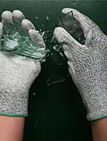 Недорогие -1 пара Полиэтилен Защитные перчатки Безопасность и защита Износостойкий Нескользкой