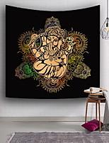 Недорогие -Слон / Религия Декор стены 100% полиэстер Modern Предметы искусства, Стена Гобелены Украшение