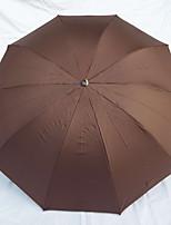 Недорогие -Ткань / Нержавеющая сталь Муж. Солнечный и дождливой Складные зонты