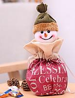 baratos -Ornamentos / Natal Férias Tecido Desenho Animado Decoração de Natal