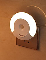 cheap -1pc Wall Plug Nightlight AC Powered New Design / Easy Carrying 220-240 V